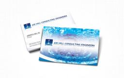 portfolio_design_work_business_card_joe_hill_consulting_engineers