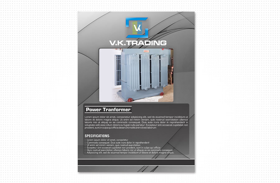 portfolio_design_work_v_k_trading_flyer